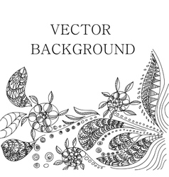 Tattoo henna background vector