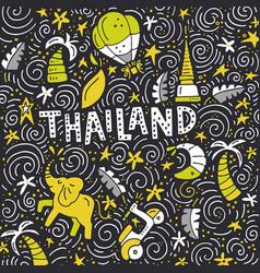 thailand square concept vector image