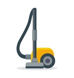 Vacuum Cleaner Icon Isolated on White vector