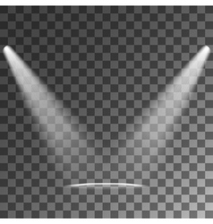 Spotlights Light Effects vector image vector image