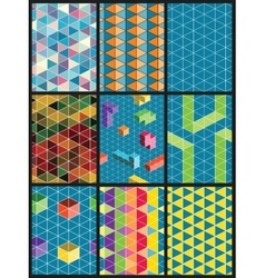 abstract pattern backgrounds vector image