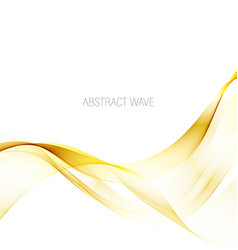 Abstract smoky waves background template vector