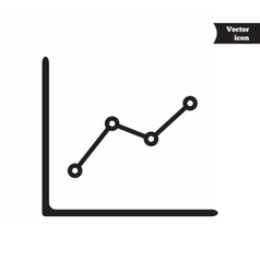 Business progress chart vector