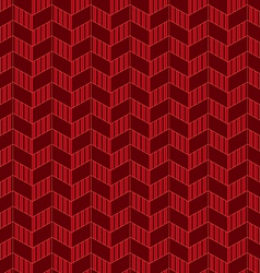 Seamless abstract geometric zigzag pattern vector image