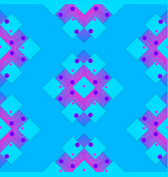seamless patterns in the form of geometric shapes vector image vector image