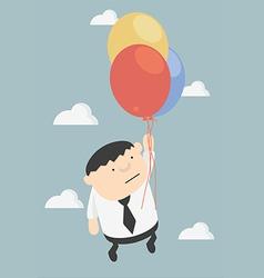 businessman successful vector image
