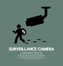 Surveillance Camera Graphic vector image