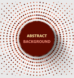 abstract background with red tone circles halftone vector image