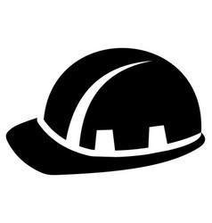 builder hardhat vector image