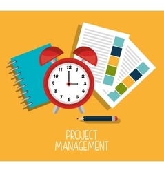Business project management vector image