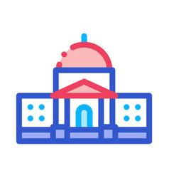 Congress icon outline vector