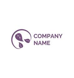 creative modern idea company logo flat vector image