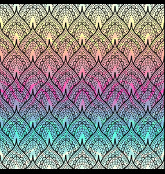 Decorative ornament abstract pattern vector