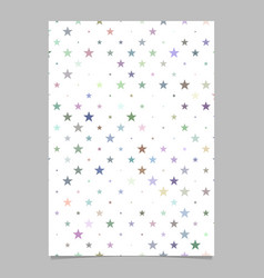 Geometrical star pattern poster background vector