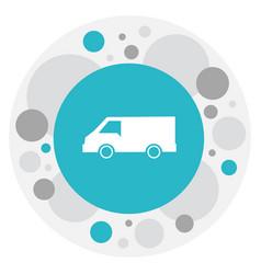 of transportation symbol on vector image