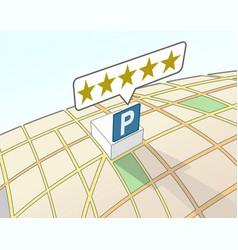 Parking area top user rating vector