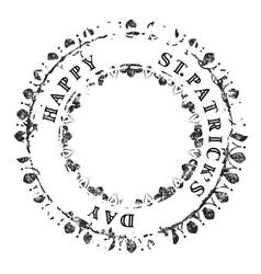 patrick grunge stamp v3 vector image