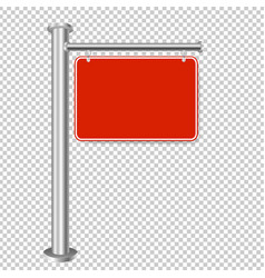 red sign for sale isolated transparent background vector image