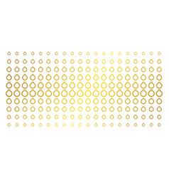 ruby ring gold halftone grid vector image