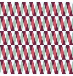 seamless pattern with stripes and triangles vector image