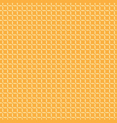 seamless pattern yellow on orange vector image