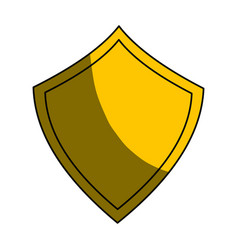 Security web padlock shield vector