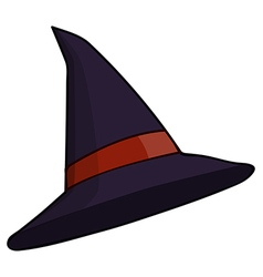 Witch hat vector