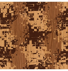 wooden shatter pattern vector image