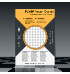 Booklet template vector image