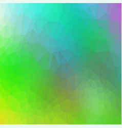abstract colorful triangle mosaic pattern vector image vector image