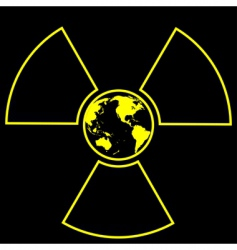 global radiation vector image vector image