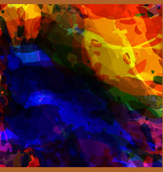 abstract colorful grunge backgrounds brush stroke vector image