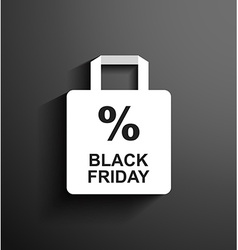Discount Black Friday vector image