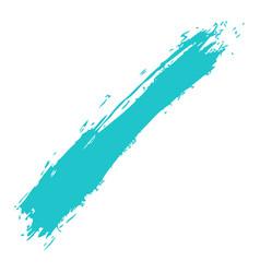 Green paint brushstroke vector