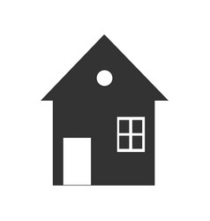 Home image to be used in web applications vector
