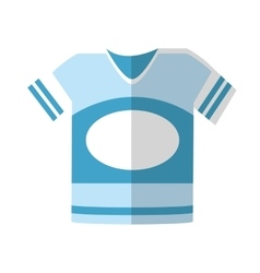 Isolated tshirt of sport design vector