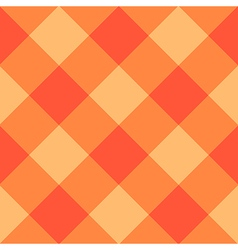 Orange Diamond Chessboard Background vector