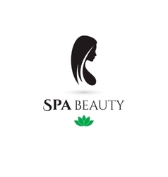 Spa and Beauty company logo vector