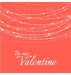 Valentines Day with Delicate vector image vector image