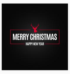 year logo design background vector image