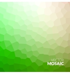 Abstract colorful voronoi mosaic wallpaper texture vector image