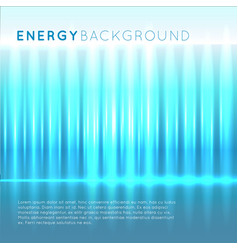 blue energy abstract background vector image