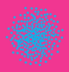 Bright confetti background vector