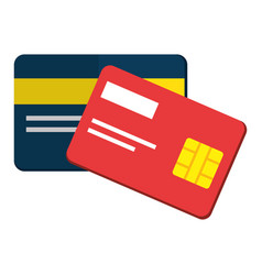 Credit cards design vector