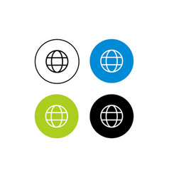Design icon web vector