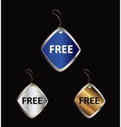 Free tag vector