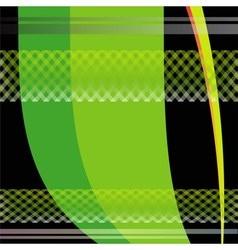 Green wavy background vector