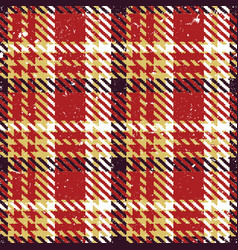 grunge tartan plaid abstract vector image