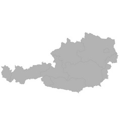 High quality map vector