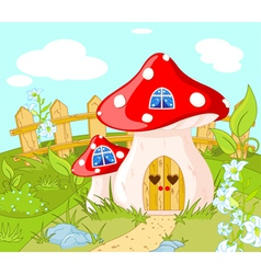 House of Gnome vector image